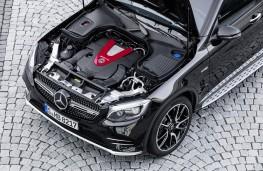 Mercedes-AMG GLC 43, 2016, engine