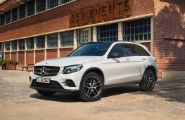 Mercedes-Benz GLC Night Edition, 2019, front