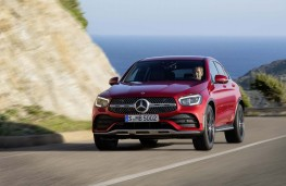 Mercedes-Benz GLC Coupe, 2019, front, action