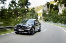 Mercedes-AMG GLC 43, 2016, front, action