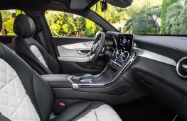 Mercedes-Benz GLC Coupe, 2019, interior