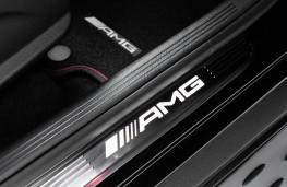 Mercedes-AMG GLC 43, 2016, kickplate