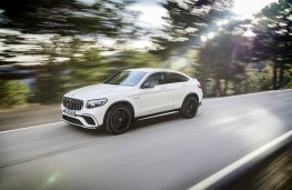 Mercedes-AMG GLC 63 Coupe, 2017, front