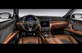 Maserati Quattroporte GranLusso, dashboard
