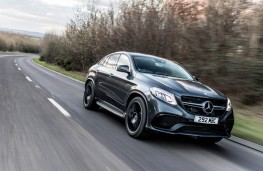 Mercedes GLE Coupe, front