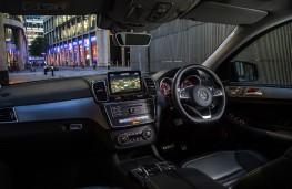 Mercedes GLE Coupe, interior