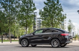 Mercedes GLE Coupe, side