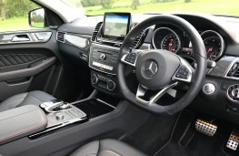 Mercedes-Benz GLE 350d 4MATIC AMG Line Coupe, 2017, interior