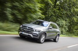 Mercedes-Benz GLE, 2019, front, action