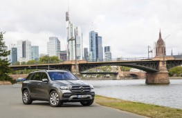Mercedes-Benz GLE, 2019, front, static