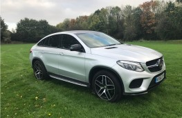 Mercedes-Benz GLE 350d 4MATIC AMG Line Coupe, 2017, front