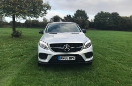 Mercedes-Benz GLE 350d 4MATIC AMG Line Coupe, 2017, nose