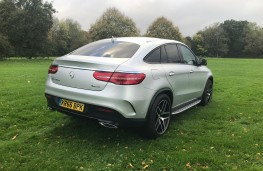 Mercedes-Benz GLE 350d 4MATIC AMG Line Coupe, 2017, rear, static