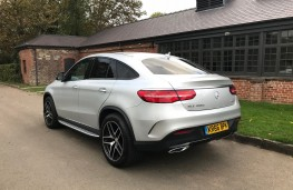 Mercedes-Benz GLE 350d 4MATIC AMG Line Coupe, 2017, rear