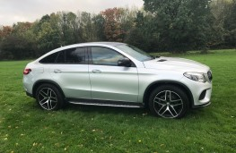 Mercedes-Benz GLE 350d 4MATIC AMG Line Coupe, 2017, side