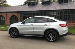 Mercedes-Benz GLE 350d 4MATIC AMG Line Coupe, 2017, side, static