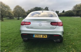 Mercedes-Benz GLE 350d 4MATIC AMG Line Coupe, 2017, tail