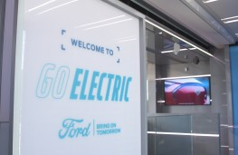 Ford Go Electric sign