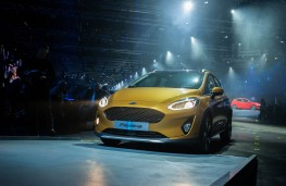 Ford Fiesta, 2017, reveal, front