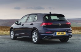 Volkswagen Golf Life, 2020, rear