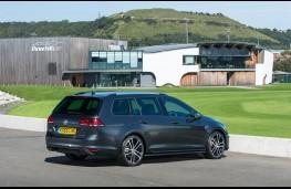 Volkswagen Golf Estate, rear