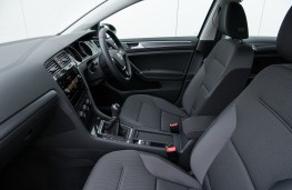Volkswagen Golf Estate, interior, front