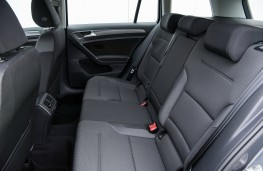 Volkswagen Golf Estate, interior, rear