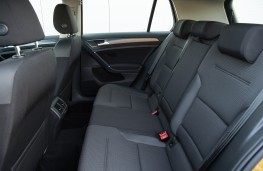 Volkswagen Golf, interior rear
