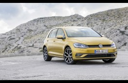 Volkswagen Golf, 2017, front, static