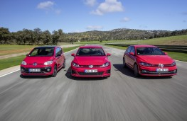 Volkswagen up! GTI, Golf GTI Performance and Polo GTI, 2018, track 1