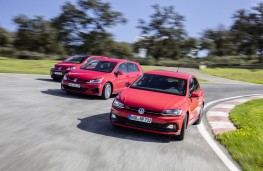 Volkswagen up! GTI, Golf GTI Performance and Polo GTI, 2018, track 3
