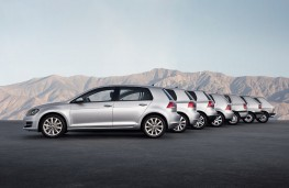 Volkswagen Golf, seven generations