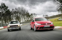 Volkswagen Golf GTI Mk 1 and Golf GTI Clubsport S, 2016, Nurburgring