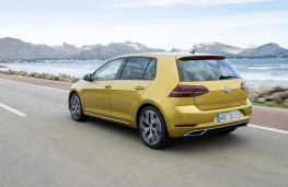 Volkswagen Golf, 2017, rear