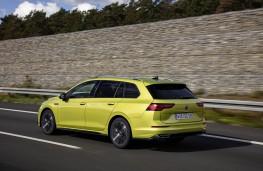 Volkswagen Golf Estate, 2020, rear