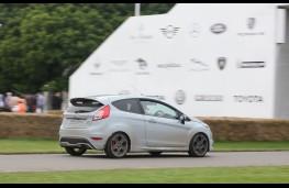 Ford Fiesta ST200, Goodwood, 2016, rear