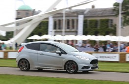 Ford Fiesta ST200, Goodwood, 2016, side