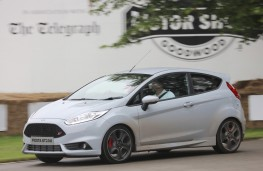 Ford Fiesta ST200, Goodwood, 2016, side, action