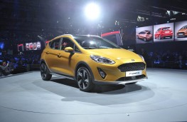 Ford Fiesta, 2017, reveal, static