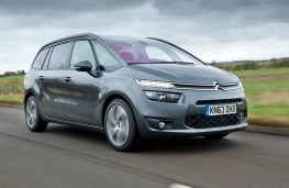 Citroen Grand C4 Picasso, front, action