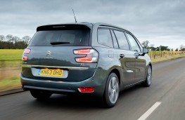 Citroen Grand C4 Picasso, rear, action
