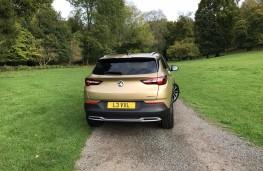 Vauxhall Grandland X, 2017, tail