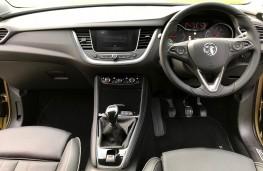 Vauxhall Grandland X, 2017, dashboard