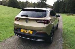 Vauxhall Grandland X, 2017, rear, static