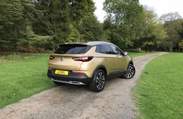 Vauxhall Grandland X, 2017, rear