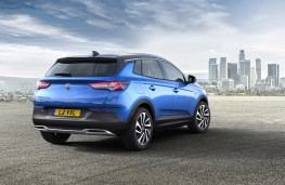 Vauxhall Grandland X Ultimate, 2017, rear