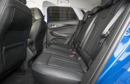 Vauxhall Grandland X, 2017, rear seats