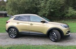 Vauxhall Grandland X, 2017, side