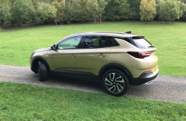 Vauxhall Grandland X, 2017, side, static