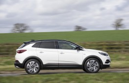 Vauxhall Grandland X Ultimate, 2018, side, action